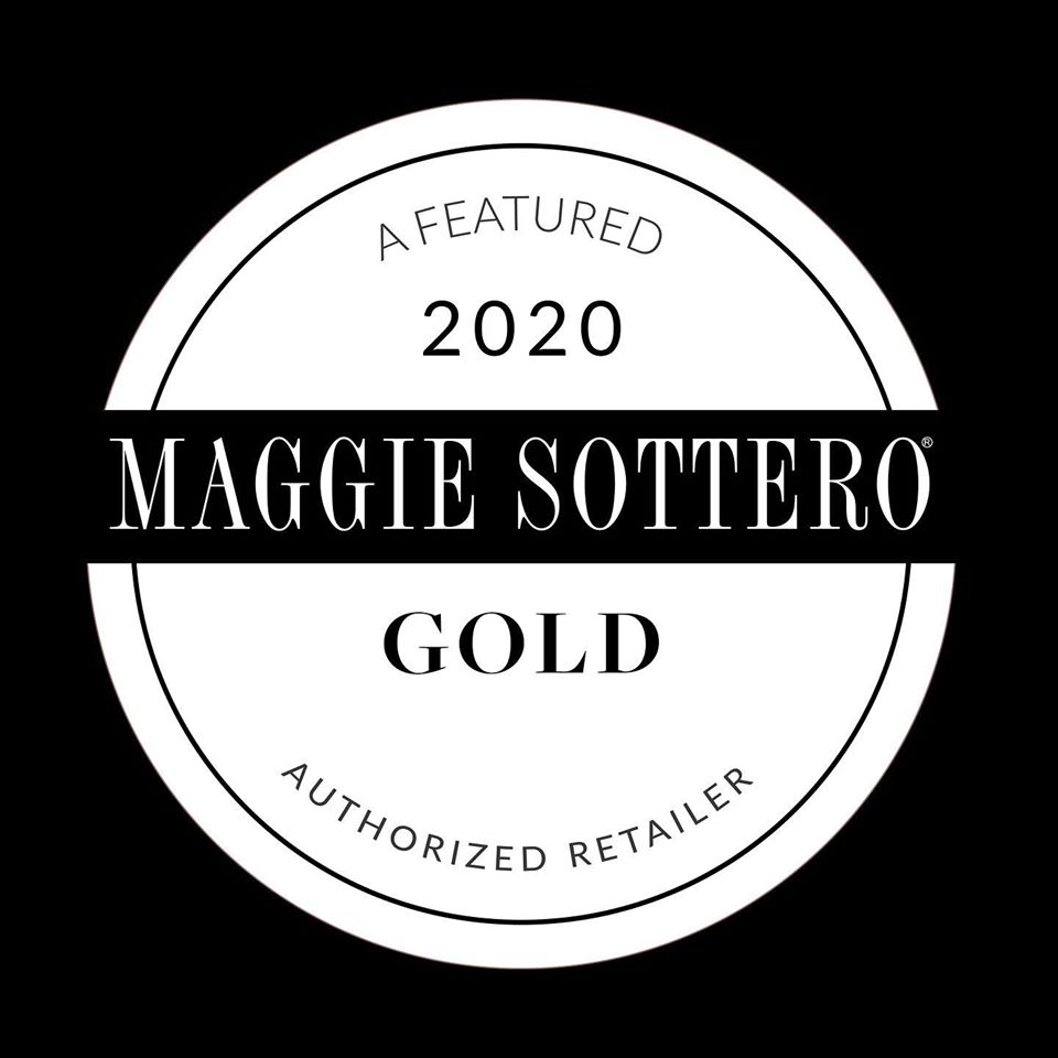 Proud To Be A Maggie Sottero Gold Stockist!