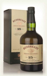 Redbreast 15 Year Old Single Pot Still 70cl