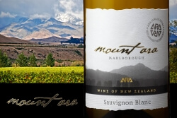 Mount Ara Sauvignon Blanc Marlborough 2014 x 6 Pack