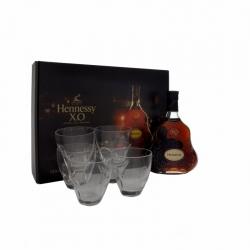 Hennessy XO Cognac 70cl (6 excl.Thomas Bastid Glass Set)