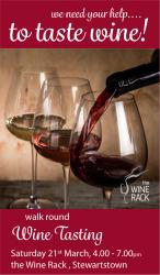 Walk Round Wine Tasting