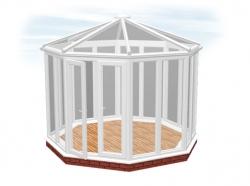 <b>The Coniston GZ2T</b> Garden Building