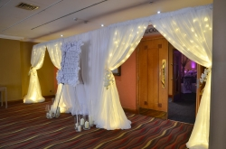 Fairy Light Door Entrance