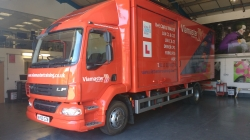 Orange DAF LF Automatic Training Vehicle