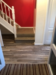 Da Vinci RP98 Limed Linen Oak with Minelli Stairs and landing