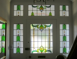 Commissioned Stained Glass Repair Work