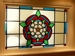 Commissioned Tudor Rose Panel