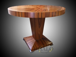 Rosewood meeting table   Top quatered in 4