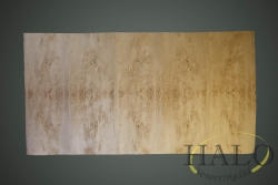 Veneered masur birch dining table top  Quatered masur birch dining table top