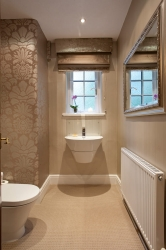 Bright light for smart downstairs loo