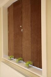 Fabric shutters