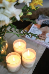 Candles, the warmest and most golden of light