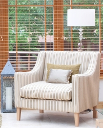 Natural light with blinds for privacy