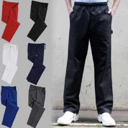 Dennys unisex plain chefs trousers (DC18)