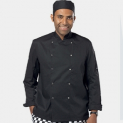 Dennys lightweight long sleeve black (DD08C)