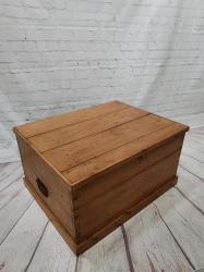Victorian Pine Blanket box SOLD