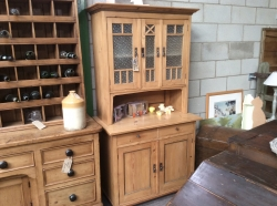Cute Small Glazed Dutch Dresser