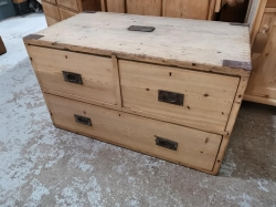 Military 3 Drawer Chest. SOLD