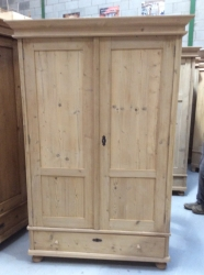 Antique Dutch Wardrobe - W9