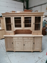 Large old pine dutch dresser SOLD