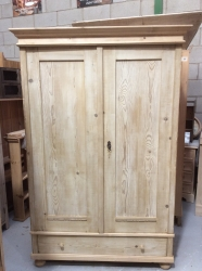 Antique Dutch Wardrobe - W6