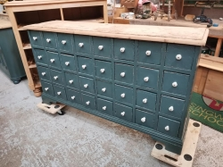 Old Multi-Drawer with 32 Drawers RESERVED