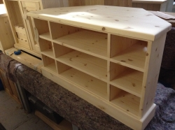 Corner TV unit handmade