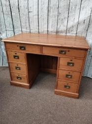 Stunning Ladies Pitch Pine Desk