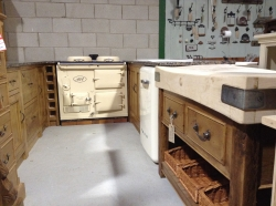 New range of old wood pine kitchens