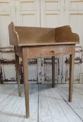 Rare small dressing table washstand in original paint SOLD