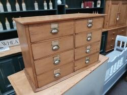 8 Drawer Victorian Pine Chest SOLD