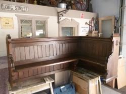 Antique Corner Pew
