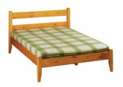 Pine - Boston Modern Shaker Bed
