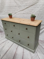 7 drawer sideboard / chest of drawers SOLD