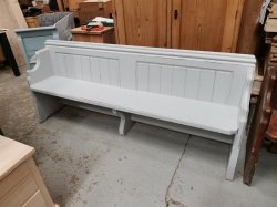Painted Pine Victorian Pine Pews - ALL SOLD NOW