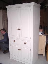 Painted larder unit