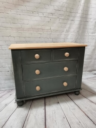 Reclaimed Pine Chest of Drawers SOLD
