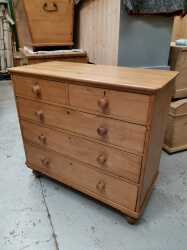 Victorian Pine Chest of Drawers - SOLD
