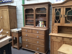 Pitch Pine Glazed Dresser