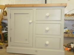 Hand Made Painted Sideboard