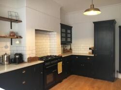 Handmade Painted Kitchen