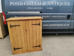 Old Pine Cupboard with Exposed T-hinges SOLD