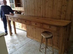 Large Hand Made Console Table