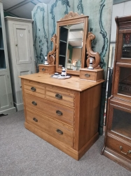 Chest of drawers with mirror SOLD