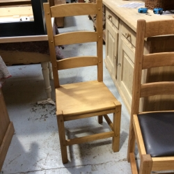 Amish Chair Beech Seat