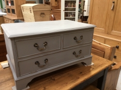 Painted Grey TV Unit