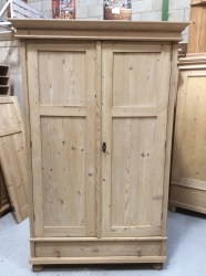 Antique Dutch Wardrobe - W8