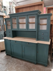 Large Painted dutch dresser in Inchyra Blue SOLD