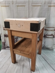 A stunning characterful butchers block RESERVED