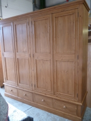 Hand Made 4 Door Wardrobe